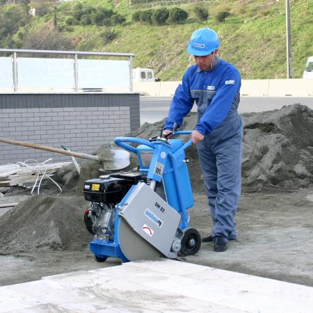 Tăietor de asfalt-beton Weber SM 82-3 Hd [1]