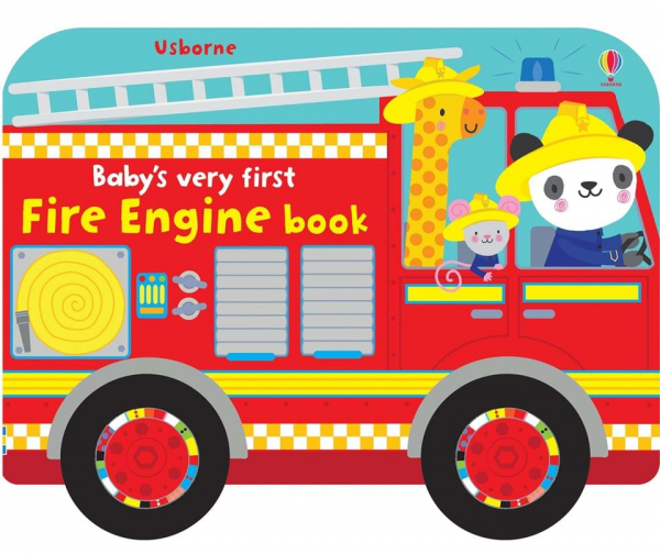 Baby's very first fire engine book 0