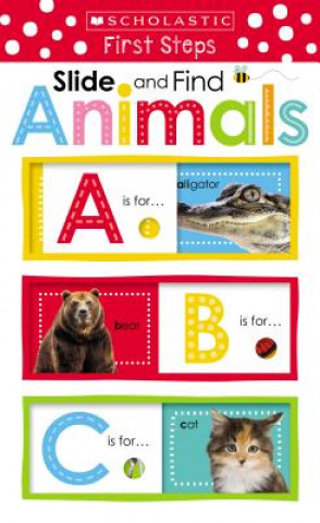 Slide and Find Animals Scholastic 0