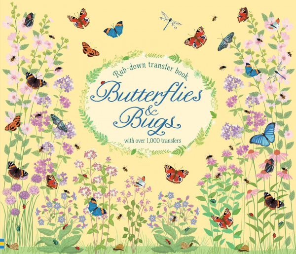 Butterflies and Bugs (Rub- Down Transfer Books 0