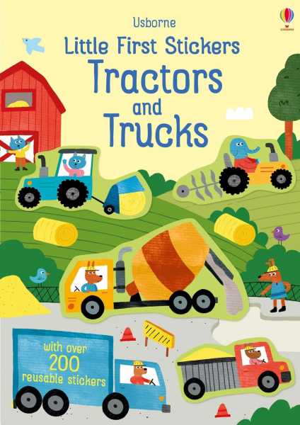 Little First Stickers Tractors and Trucks 0