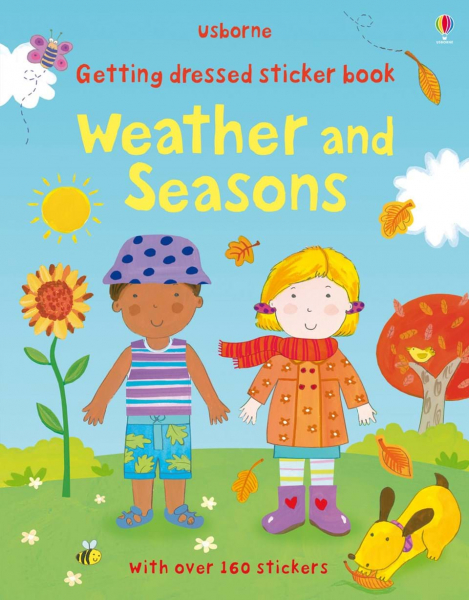 Gettting dressed sticker book . Weather and Seasons 0