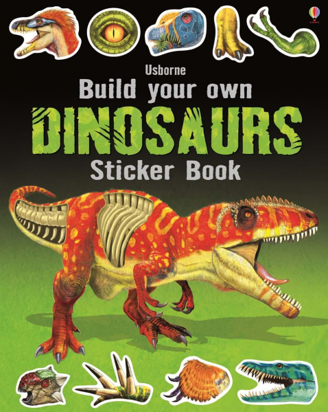 Build Your Own Dinosaurs Sticker Book 0