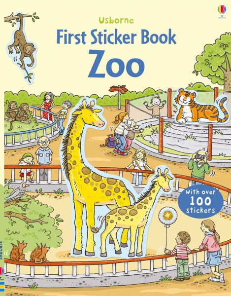 First Sticker Book Zoo 0