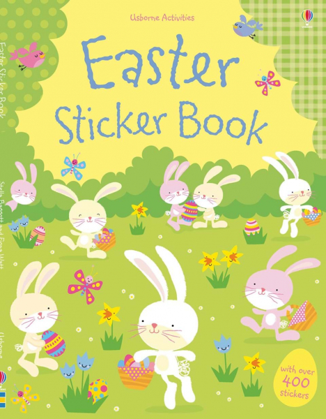 easter sticker book usborne 0