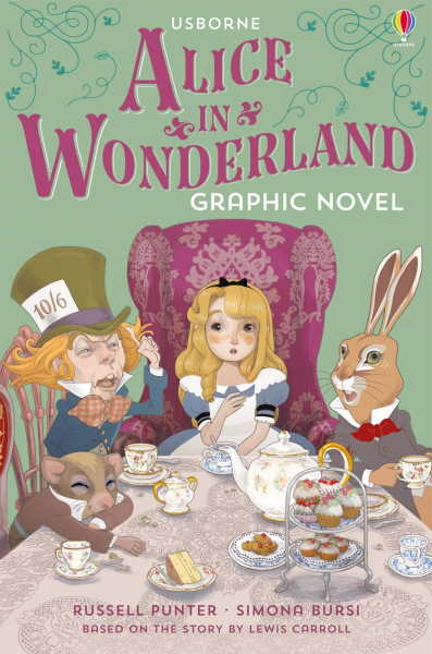 Alice in Wonderland graphic novel 0