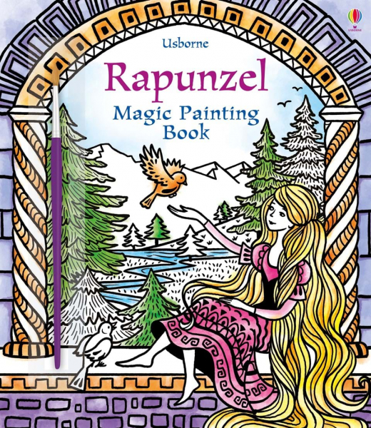 Rapunzel Magic Painting 0