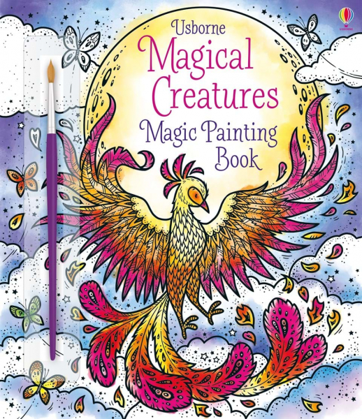Magical Creatures Magic Painting Book 0