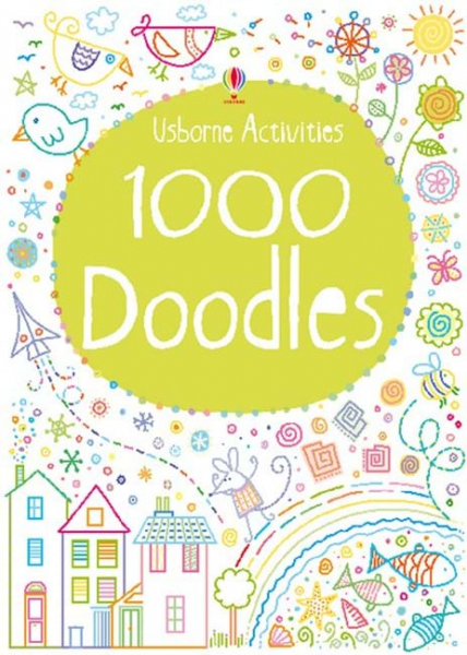 1000 Doodles By Kirsteen Robson, Phil Clarke 0