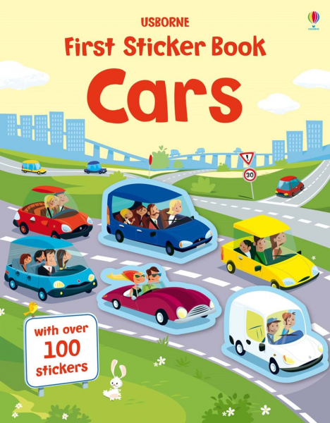 First Sticker Book Cars 0
