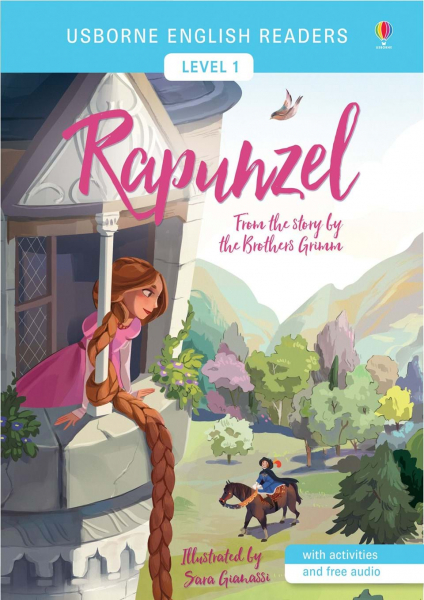 English Readers Rapunzel 0