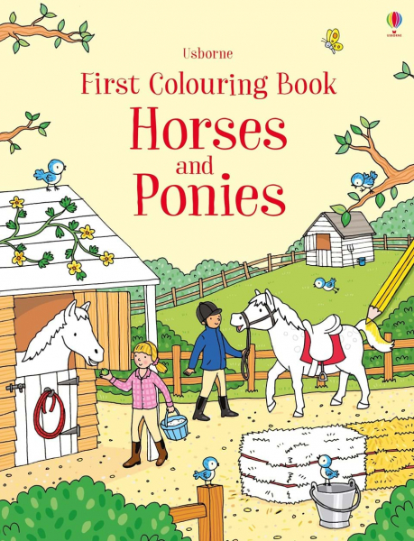 First Colouring Book Horses and Ponies 0