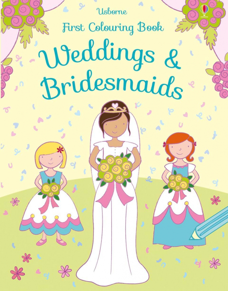 First Colouring Weddings and Bridesmaids 0