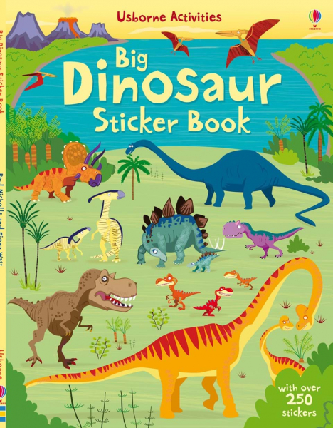 Big dinosaur sticker book 0