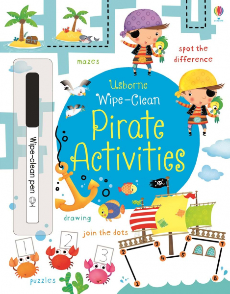 Wipe-clean Pirate Activities 0