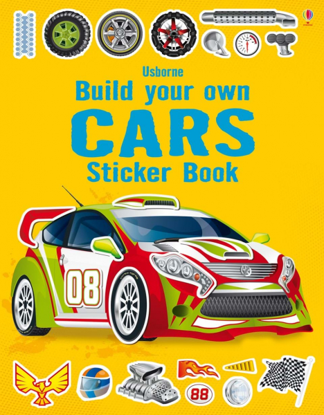 Build your own cars sticker book 0