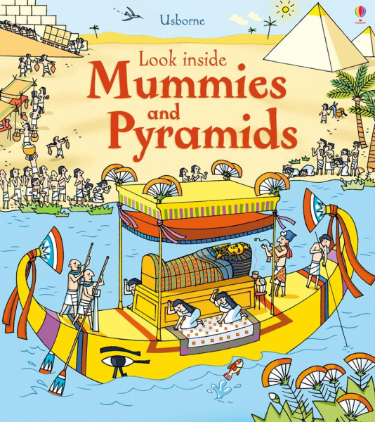 Look Inside Mummies and Pyramids 0