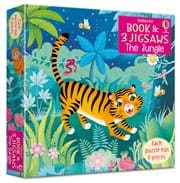 The jungle picture book and three jigsaws 0