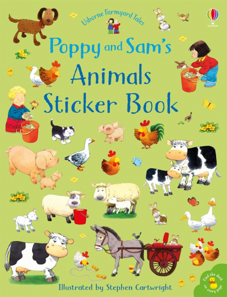 Poppy and Sam's Animals Sticker Book 0