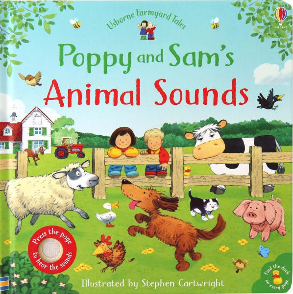 Poppy and Sam's animal sounds 0