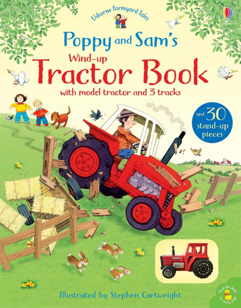 Poppy and Sam's Wind-up Tractor Book 0