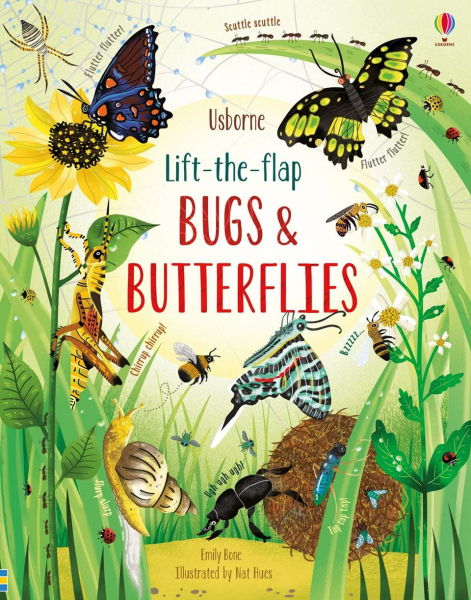 Lift-the-flap bugs and butterflies 0