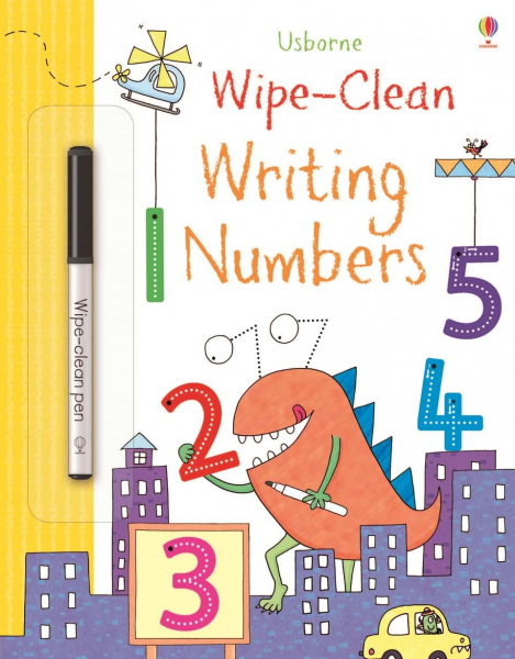 Wipe-Clean Writing Numbers 0