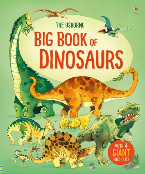 Big book of dinosaurs 0