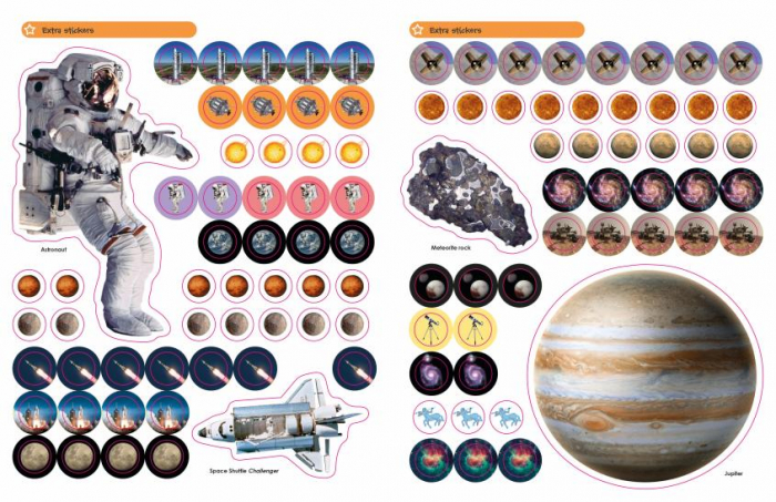 Space Ultimate Sticker Book 2
