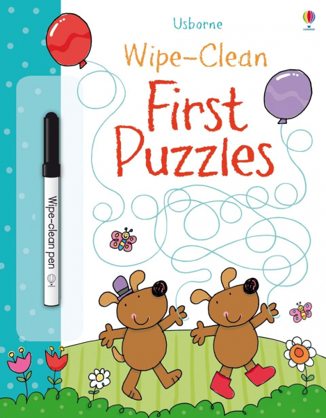 Wipe-clean First Puzzles 0