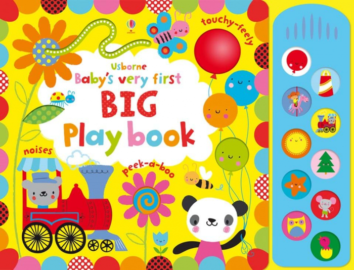 Baby`s very first big playbook usborne 0