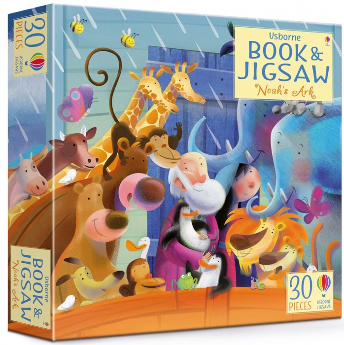 Noah's Ark picture book and jigsaw 0