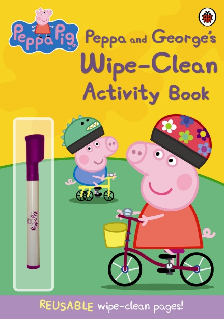 Peppa Pig: Peppa and George's Wipe-Clean Activity Book 0