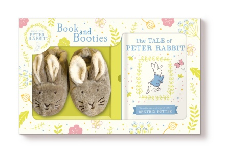 Peter Rabbit Book and Booties 0