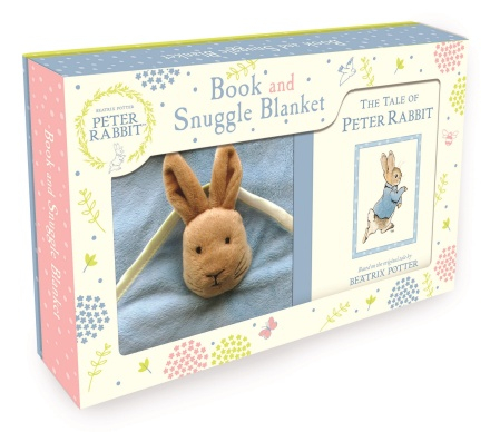 Peter Rabbit book and snuggle blanket 0