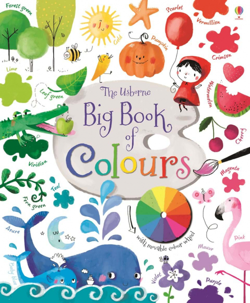 Big book of colours Series: Big picture books 0