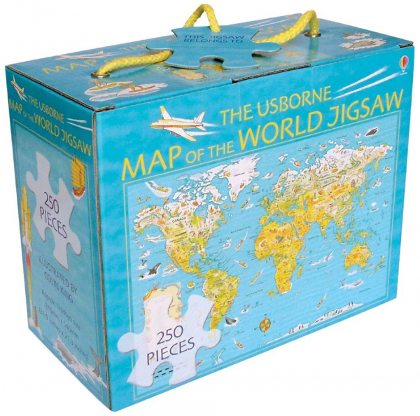 Map of the world jigsaw 0