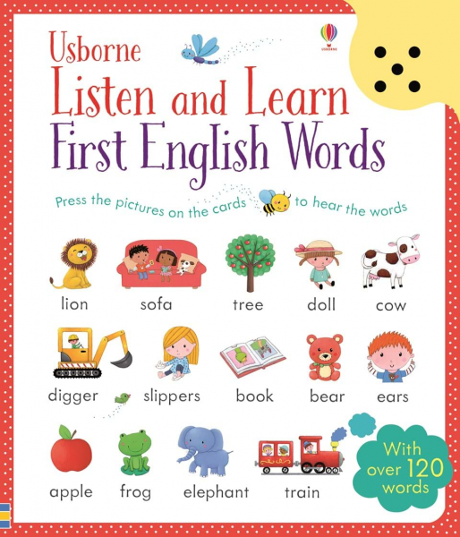 Listen and learn first English words 0