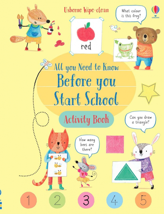 Wipe-Clean All You Need to Know Before You Start School Activity Book 0