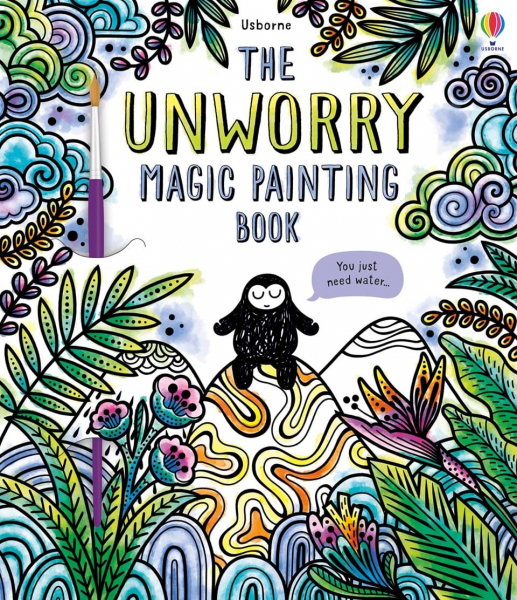 The Unworry Magic Painting Book 0