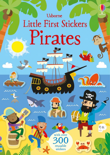 Little First Stickers Pirates 0
