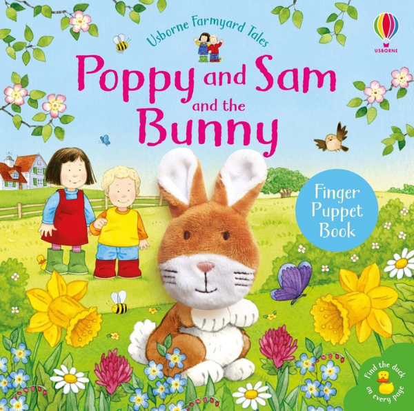 Poppy and Sam and the Bunny Finger Puppet 0