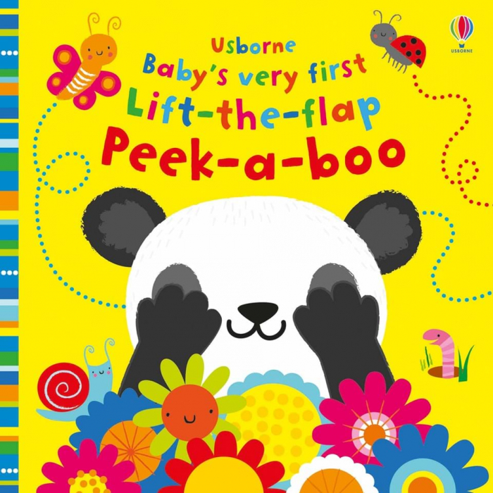 Baby's very first lift-the-flap peek-a-boo 0