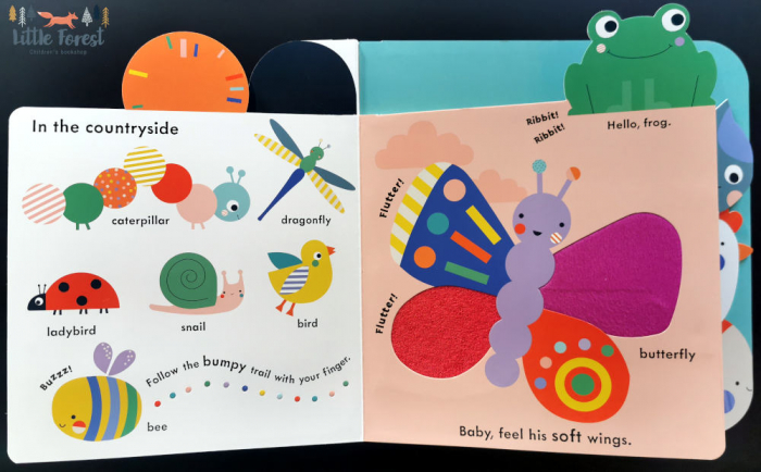 Baby Touch: Animals Tab Book 1