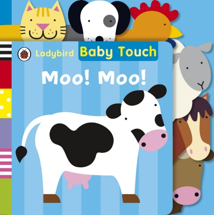 Baby Touch: Moo! Moo! Tab Book 0