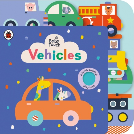 Baby Touch: Vehicles Tab Book 0