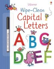 Wipe clean Capital Letters 0