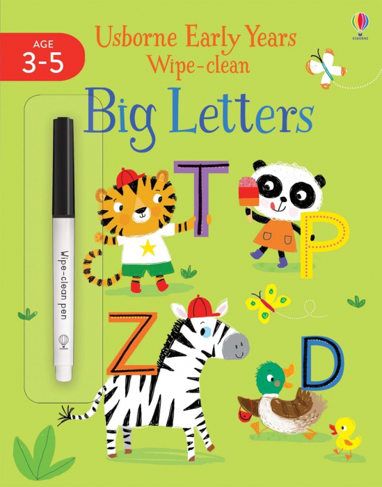 Big Letters Wipe Clean 0