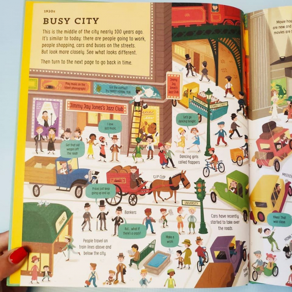 Big Picture Book of Long Ago [3]