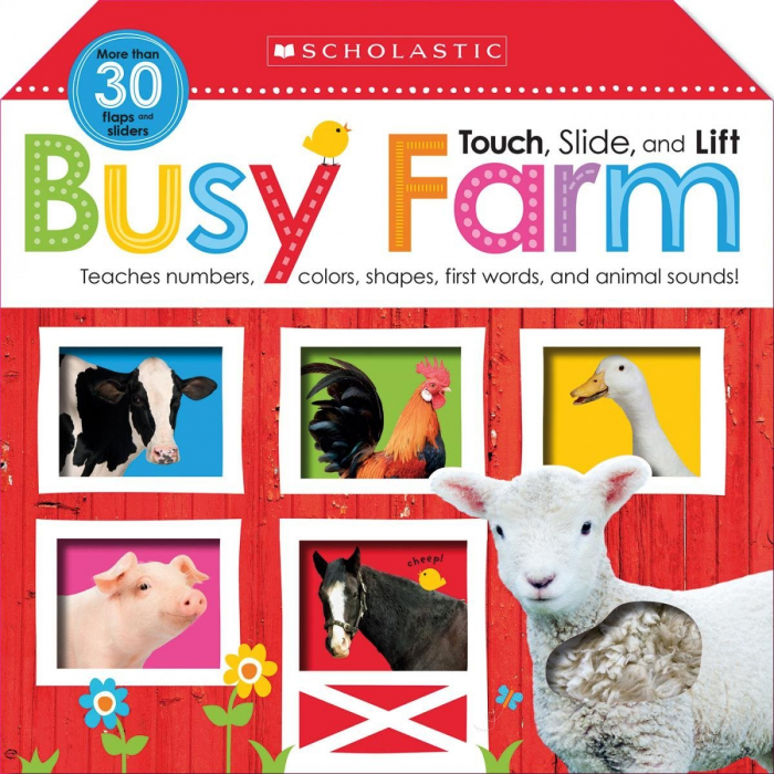 Touch, Slide, and Lift Busy Farm (Scholastic Early Learners) [0]
